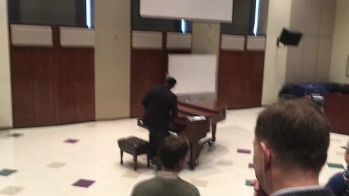 Andre Thomas on Piano