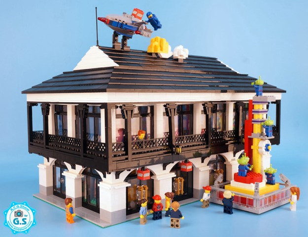 Shanghai Disney Lego Store
