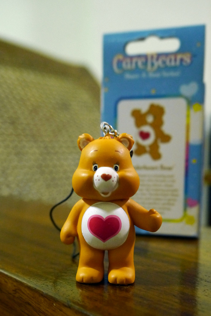 Care Bears Share-a-Bear 007 Tenderheart Bear