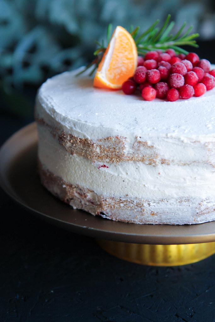 Gâteau de Noël sans gluten