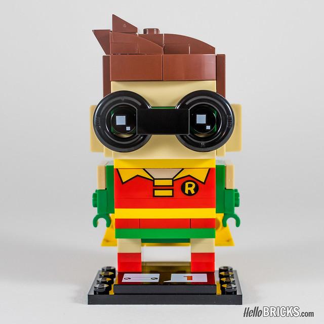 REVIEW LEGO BrickHeadz series 1 The LEGO Batman Movie 41587 Robin