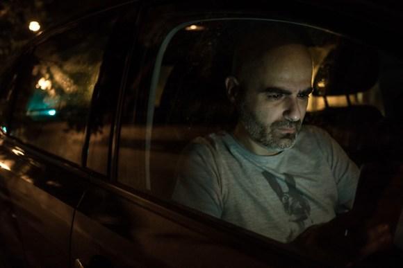 night in the car