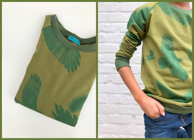 mean green sweater (collage1)