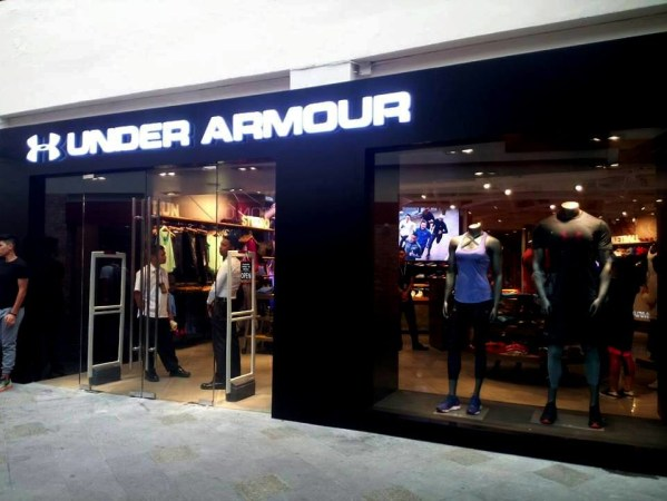 Under Armour is now in Greenbelt 3