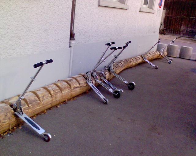 Scooter Stnder Primarschule Wil ZH Oliver Mller Flickr