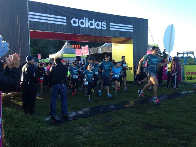 split adidas 30K trail