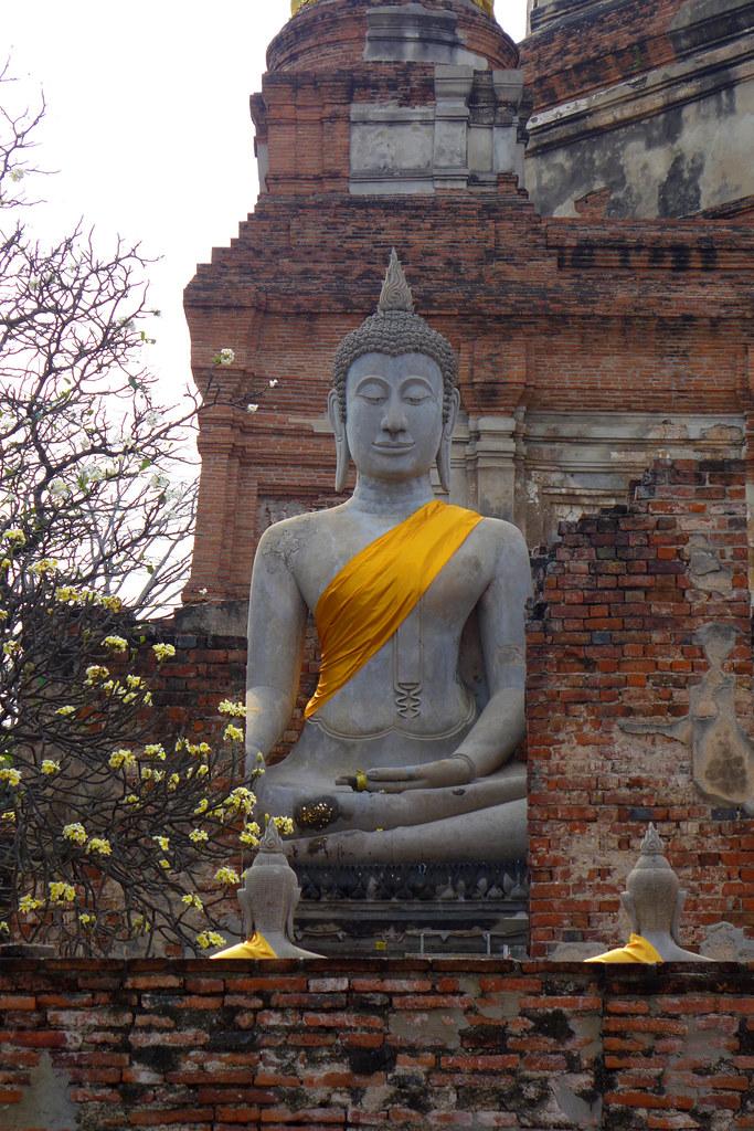 Thaïlande - Ayutthaya - 194 - Wat Yai Chai Mongkhon