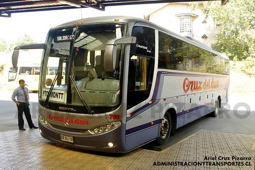 Cruz del Sur - Ancud - Comil Campione 3.45 / Mercedes Benz (DZKL12)