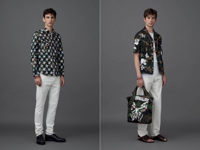 Otra tendencia masculina son las camisas de manga corta y estampadas