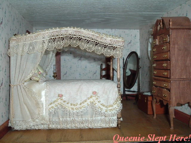 Lace Canopy Bed Lace Canopy Bed In Bedroom Of Pam S