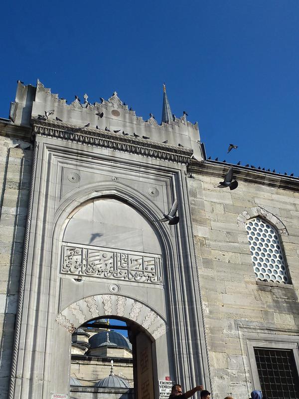 Turquie - jour 23 - Balades poétiques et visages stambouliotes - 167 - Yeni Camii, Eminönü
