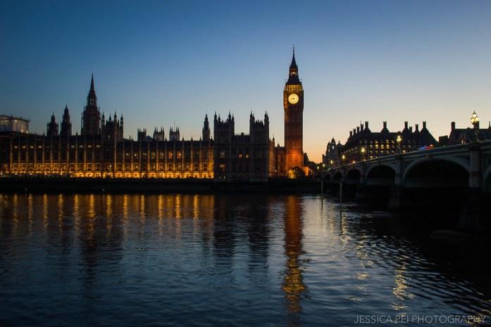 Big Ben after Sunset