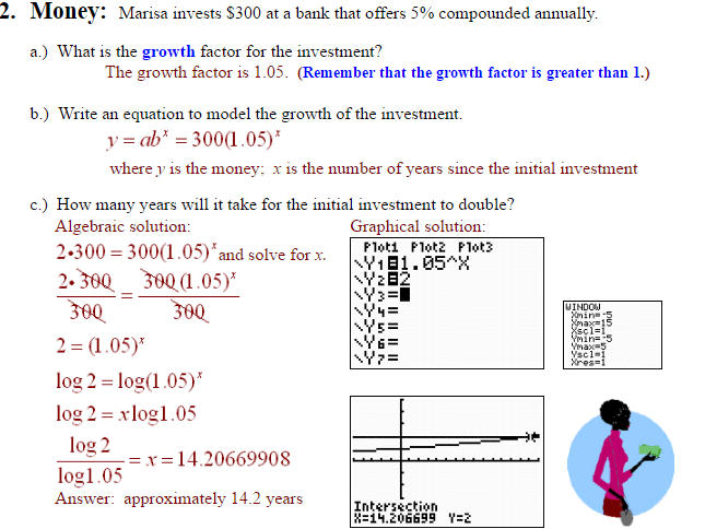 Examples Of Applications Of Exponential Functions A Plus Topper