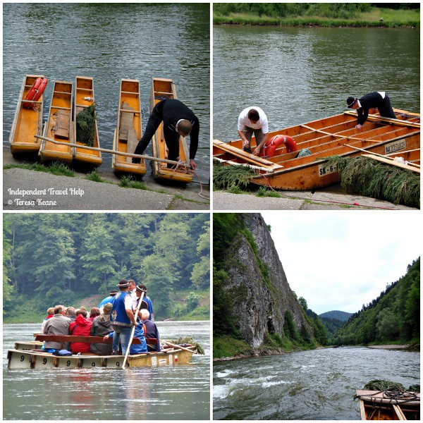 Traditional Wooden Rafting on the Dunajec River