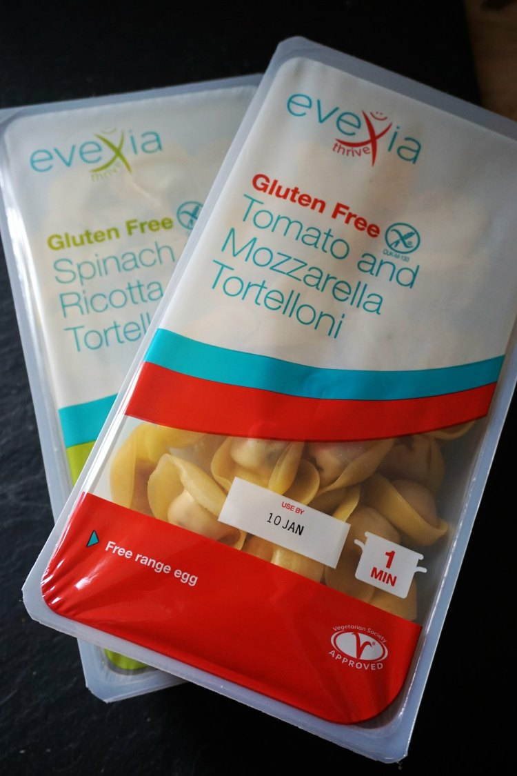 Evexia gluten free tortellini from Sainsbury's