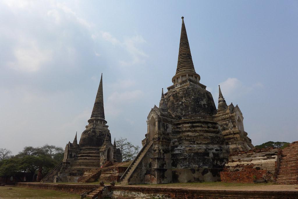 Thaïlande - Ayutthaya - 078 - Wat Phra Si Sanphet