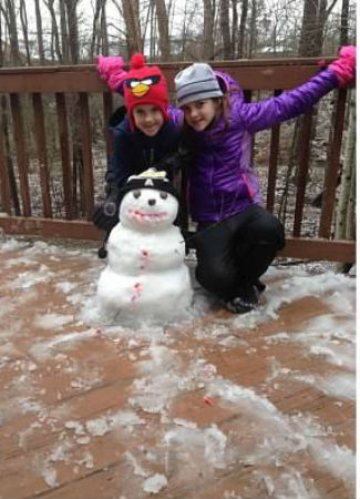 Charlotte Family Counseling, Child Counseling, L & B Counseling, Ballantyne, Charlotte NC- kids snow day