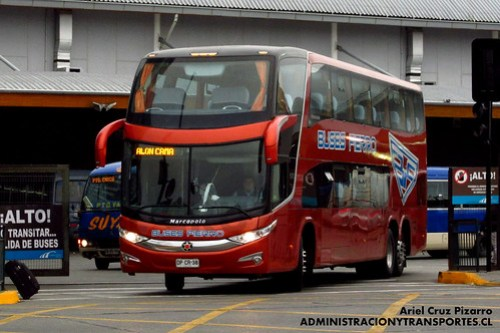 Buses Fierro - Puerto Montt - Marcopolo Paradiso 1800 DD G7 / Scania (DPCR38)