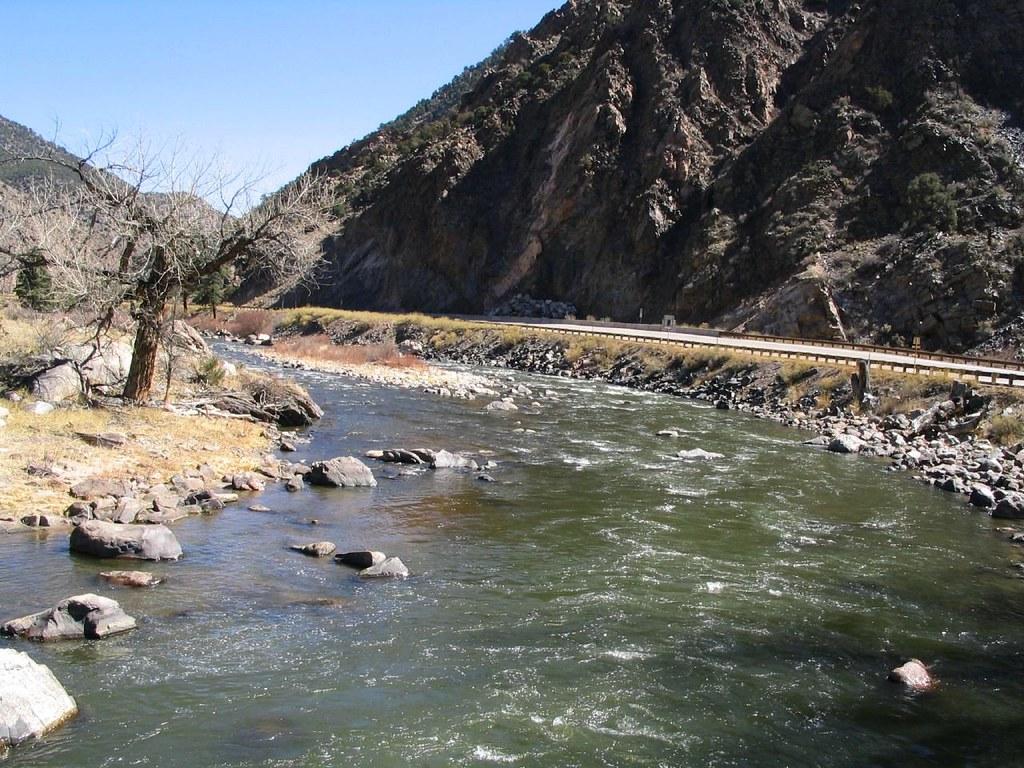 Arkansas River As Seen From U S 50 Colorado