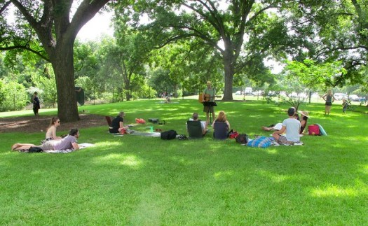 Sundaysong Singalong at Barton Springs