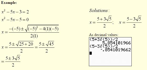 Quadratic Equations-5