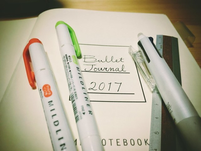 My first Bullet Journal
