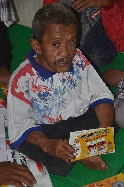 Dokumentasi sosialisasi disabilitas pada Pemilu 2014