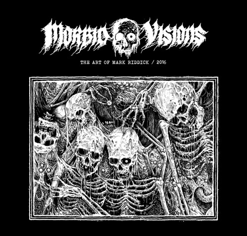 Cover of Morbid Visions: The Art of Mark Riddick