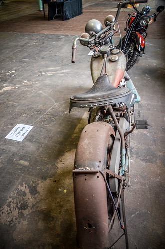 Antique Indian Motorcycle-005