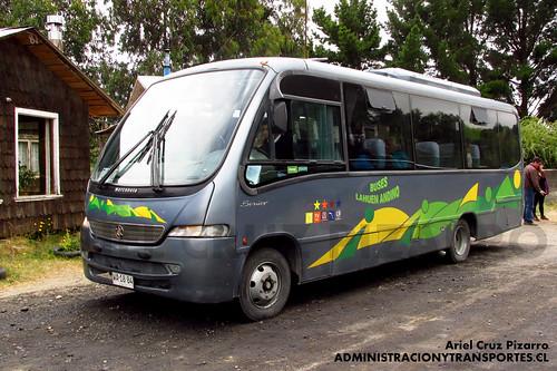 Turismo Lahuén Andino - La Poza - Marcopolo Senior / Mercedes Benz (WA1884)