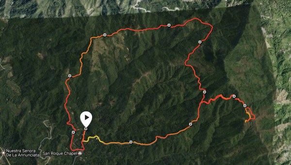 Map and Elevation Profile powered by Suunto Spartan Sports