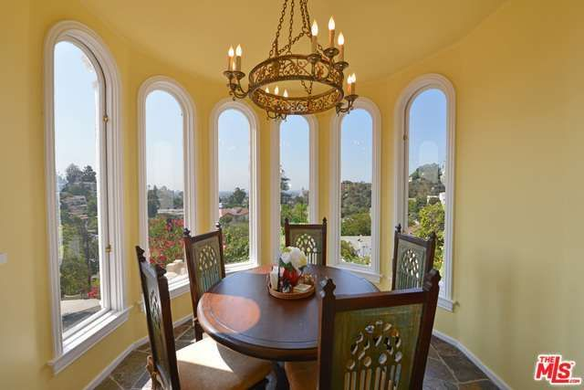 Eva Longoria Mediterranean-style home in Hollywood Hills 3