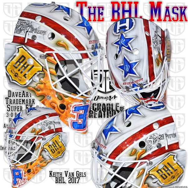 The BHL Mask | Kane Van Gate, BHL, 2017 | David Gunnarsson ...