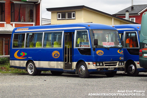 Buses J - Castro - Mitsubishi Fuso Rosa (BRSR61)