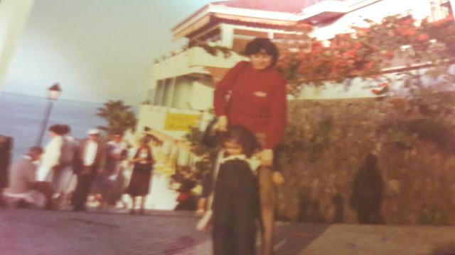Paseo La Paz principio años 80