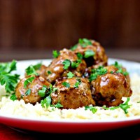 Recipe Remake: Teriyaki Turkey Meatballs