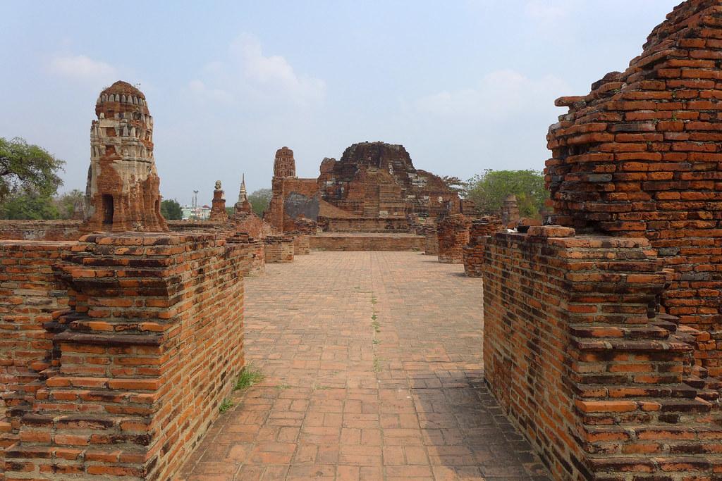 Thaïlande - Ayutthaya - 041 - Wat Maha That