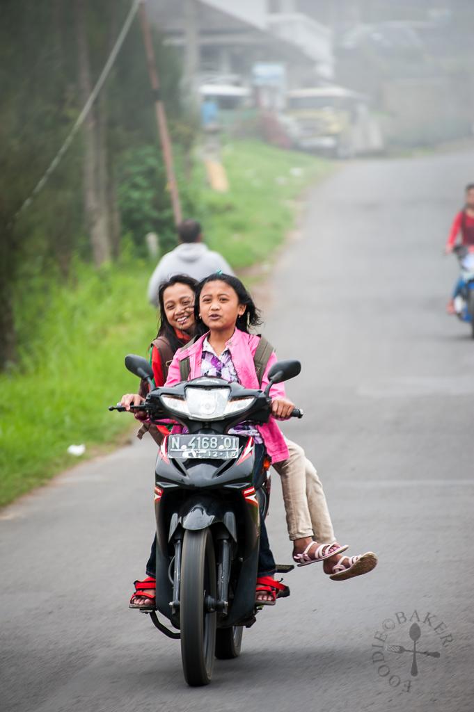 Kids in Bromo