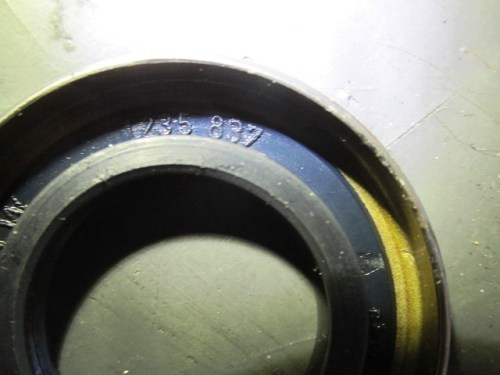 Rear Wheel Right Oil Seal (Mold Mark 1235 837)