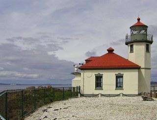 Alki Point From a Kerosene Lantern to Lighthouse