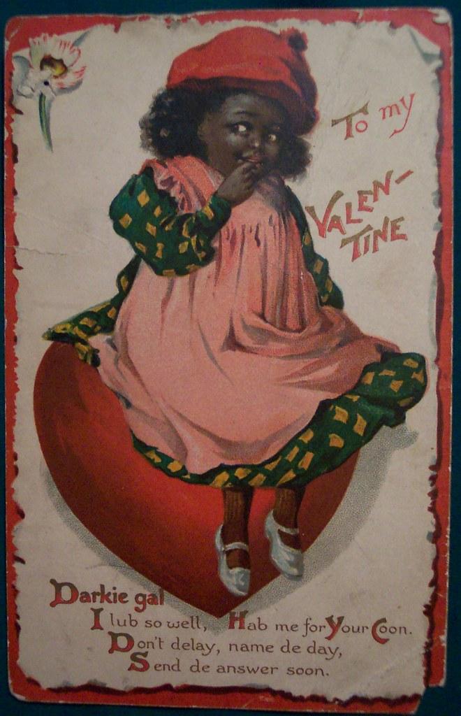 Vintage Valentines Day Postcard Dave Flickr