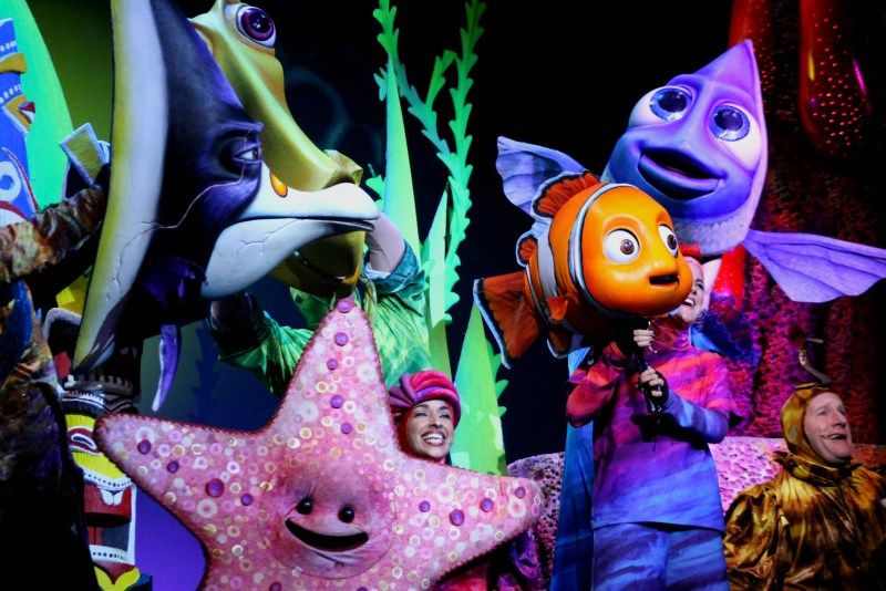 Finding Nemo the Musical Animal Kingdom Oct 2016 24
