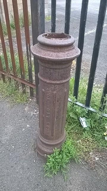 Stench Pipe, behind Muriel Street, Redcar