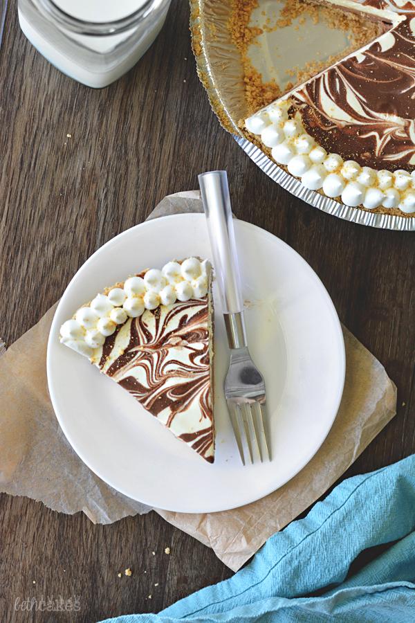 No-Bake Nutella S'mores Pie