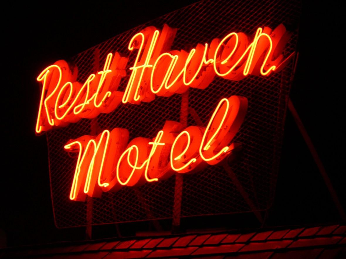 Rest Haven Motel - 815 Grant Street, Santa Monica, California U.S.A. - December 30, 2005
