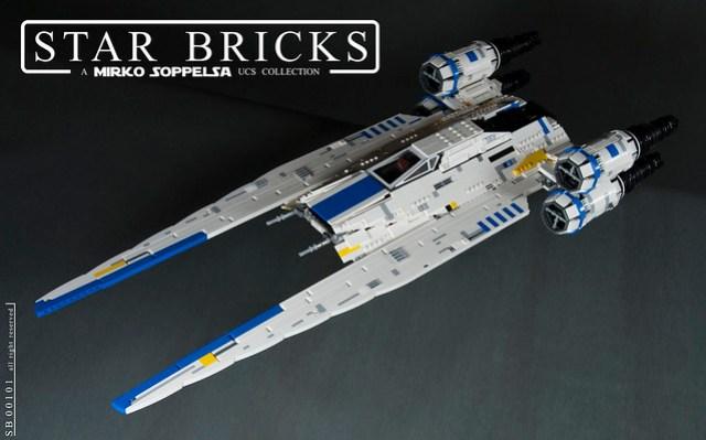 LEGO Star Wars U-Wing Starfighter UCS