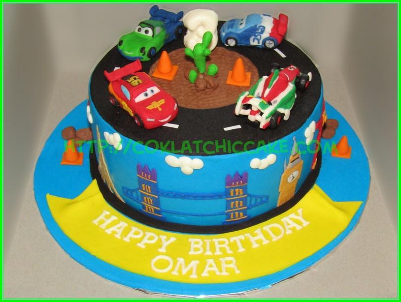 Cake Disney Cars2 Omar Jual Kue Ulang Tahun