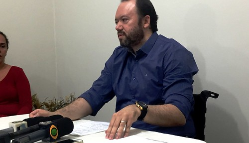 Secretário de Saúde dá esclarecimentos sobre nova diretora do HMS, Edson Ferreira Filho