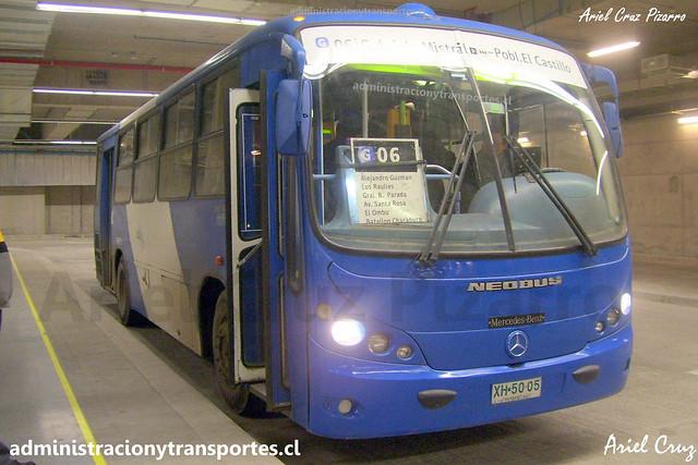 Transantiago G06 | BGS | Neobus Spectrum - Mercedes Benz / XH5005