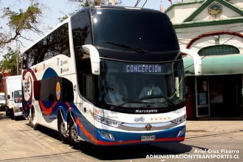 Eme Bus - Santiago - Marcopolo Paradiso 1800 DD / Volvo (GVPT60)
